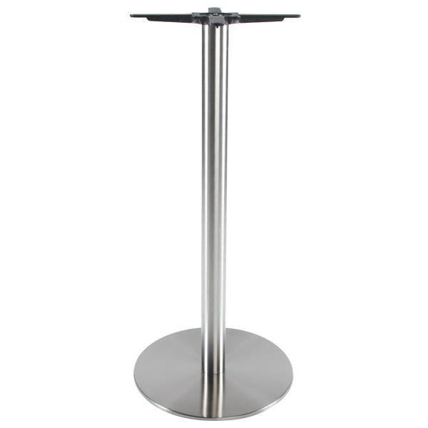PIED DE TABLE Pied de table sans plateau en métal de couleur ac