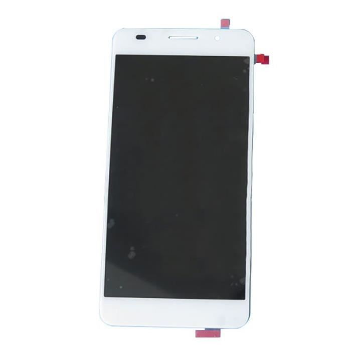 Ecran lcd huawei honor 6 blanc achat pi ce t l phone pas for Photo ecran honor 7