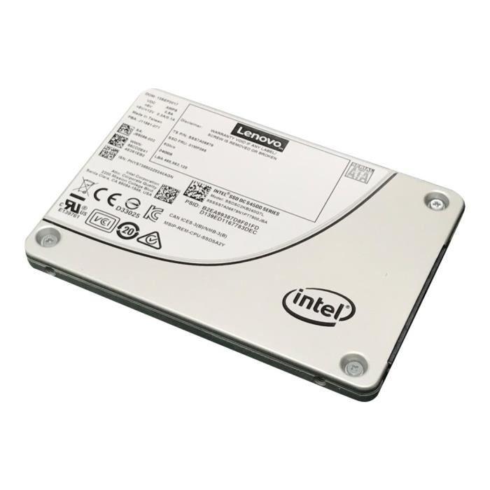 DISQUE DUR SSD Intel S4500 Entry Disque SSD chiffré 960 Go échang