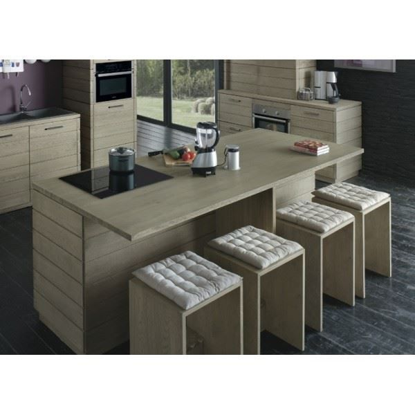 meuble bas de cuisine ilot cen achat vente elements. Black Bedroom Furniture Sets. Home Design Ideas
