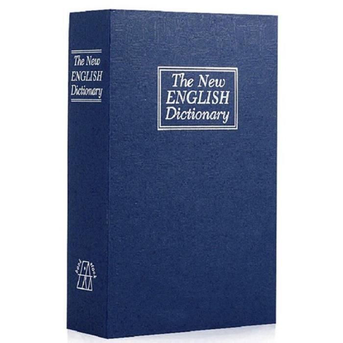 Coffre-fort De Livre Avec La Clé-Dictionnaire Dictionnaire Diversion Secret