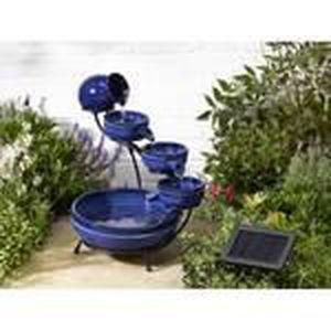 Velda autonomes d/'eau jardin fonction affichage fontaine extérieur cascade patio