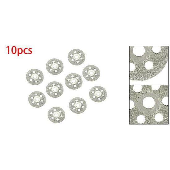 sourcing map 16mm verre diamant a scie Couper Coupe roue disques 5pcs