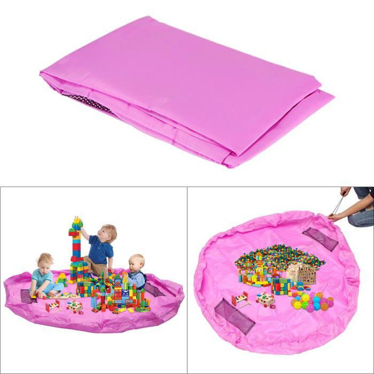 Jeux Rangement De La Maison tapis de jeu rangement sac pour jouets tapis de sol pour