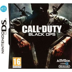 JEU DS - DSI CALL OF DUTY BLACK OPS / Jeu console DS