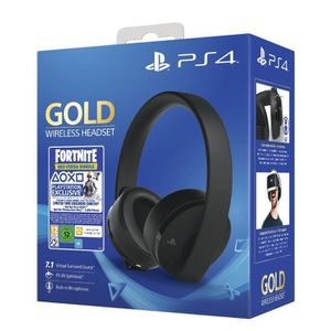 PACK ACCESSOIRE Casque Sans Fil Gold Black - Sony Virtual Surround
