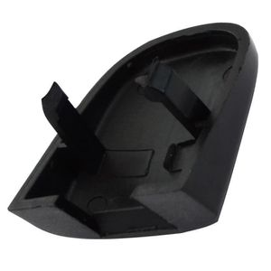 POIGNEES Aerzetix: C17036 Cache noir de poignée porte arriè