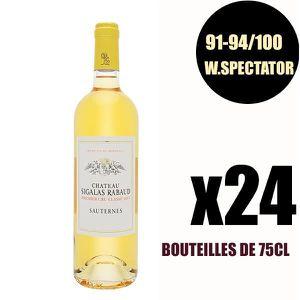 VIN BLANC X24 Château Sigalas Rabaud 2017 75 cl Sauternes 1e