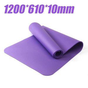 id/éal pour Le Pilates la Gymnastique et Le Yoga Gloop Tapis de Fitness XXL Tapis de Yoga Tapis de Gymnastique Pilates Extra /épais et Doux