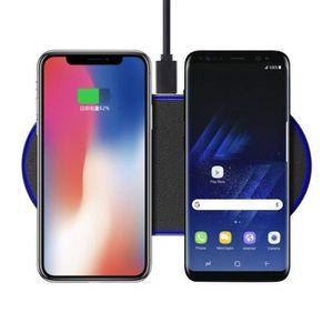 CHARGEUR TÉLÉPHONE Qi Chargeur Sans Fil Rapide Chargeur pour Samsung