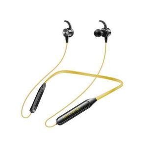 CASQUE - ÉCOUTEURS Jaune OVLENG Écouteur magnétique Bluetooth avec mi