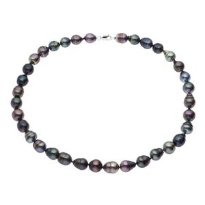 SAUTOIR ET COLLIER PERLINEA Collier Perles de Tahiti et Or Blanc 375°