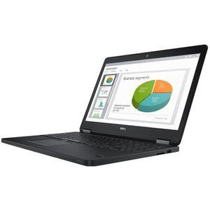 ORDINATEUR PORTABLE Dell Latitude E5550 Core i5 5300U - 2.3 GHz Win 7