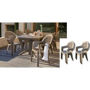 Table de jardin grosfillex