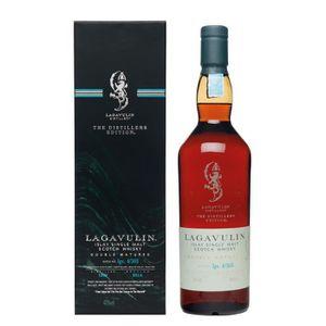 WHISKY BOURBON SCOTCH Whisky Lagavulin Distiller's Edition - Islay Singl