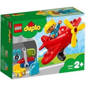 ASSEMBLAGE CONSTRUCTION LEGO® DUPLO® 10908 - L'Avion - Jeu de construction