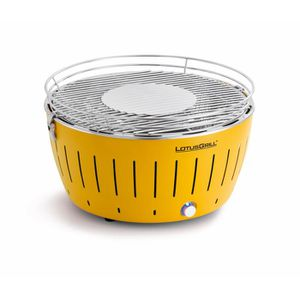 LOTUSGRILL - Barbecue portable 2-4 personnes Jaune