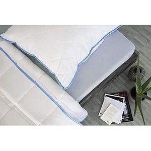 OREILLER Oreiller 60x60 cm en polyester housse microfibre m
