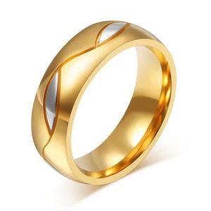 Hommes Titane Acier Inoxydable Anneau Promesse Fiançailles Anneau Mariage Bande Taille 7-14