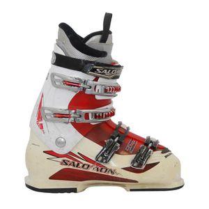 CHAUSSURES DE SKI Chaussure de ski Salomon mission 770/880 blanc/rou