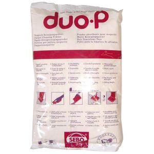 NETTOYAGE SOL Poudre pour absorption DuoP - moquette et tapis -
