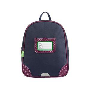 SAC À DOS Tann's - Petit sac à dos bleu et violet maternelle