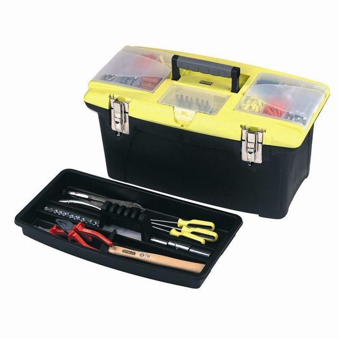 STANLEY Boîte à outils vide Jumbo 56 cm 1-92-908