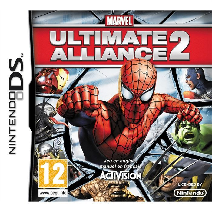 JEU DS - DSI MARVEL ULTIMATE ALLIANCE 2 / JEU CONSOLE NINTENDO