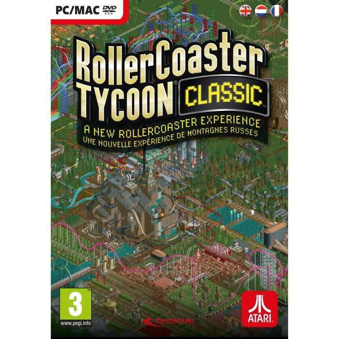 RollerCoaster Tycoon Classic Jeu PC