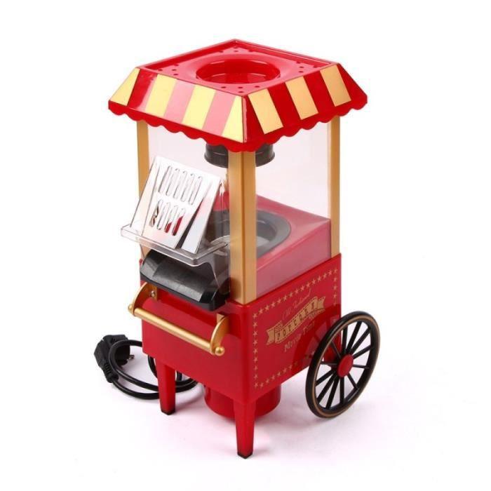 Machine à pop-corn Électrique Automatique Chariot De Ménage Sans Huile
