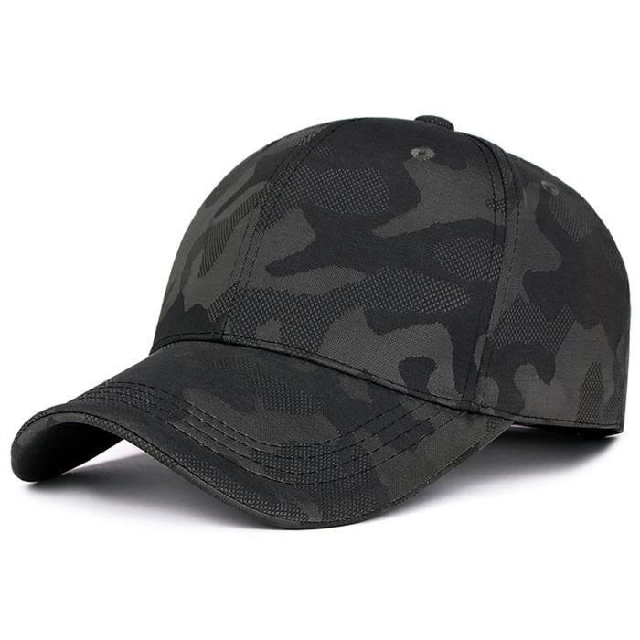Unisexe Hommes Femmes Camouflage Casquette Snapback Hat Hip-Hop Casquettes ajustables qinhigs5713