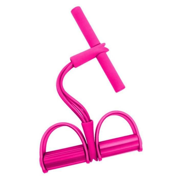 4 bandes de résistance de Tube Latex pédale exercice assis-up tirer corde bandes élastiques Yoga Fitnes - Modèle: P - HSJSTLDA08235