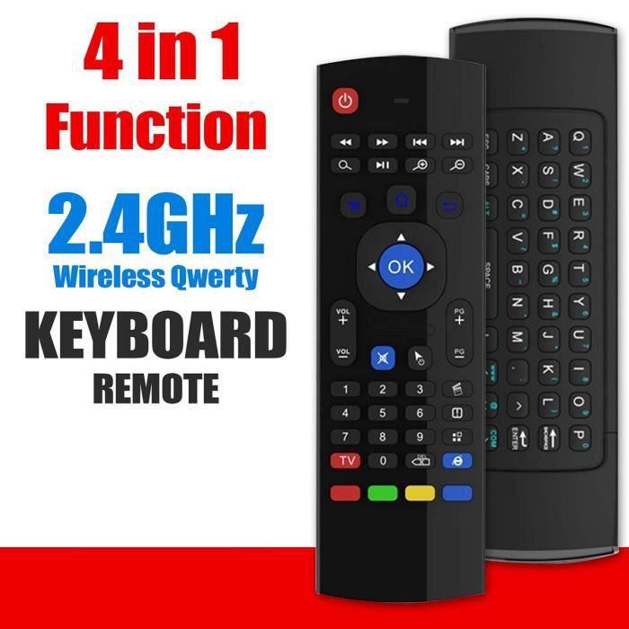 MX3 4 IN 1 Air Mouse Clavier Sans Fil Télécommande Pour Android BOX Smart TV