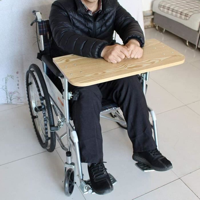 fauteuil roulant les patients et les personnes âgées qui écrit, lit et mange (largeurs de fauteuil roulant de 40 à 50 cm) A149