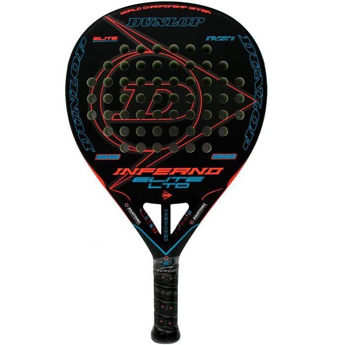 Dunlop Inferno Elite Ltd Raquette de padel Bleu