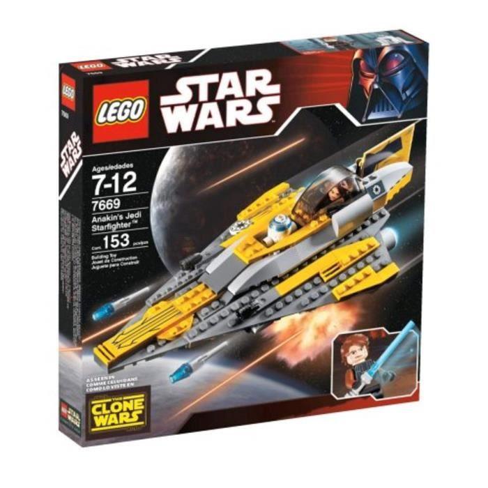 Jeu D'Assemblage LEGO X5N7Z Star Wars Anakin's Jedi Starfighter