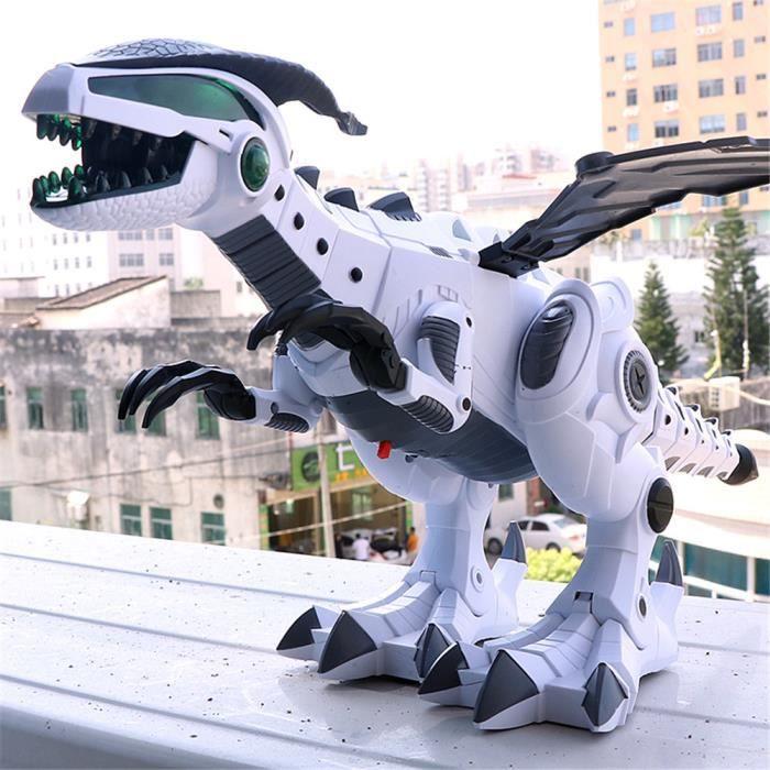 le dinosaure des jouets pour enfants white spray dinosaure jouet mécanique électrique mondiale pour garçon fille ptérosaures dinosau