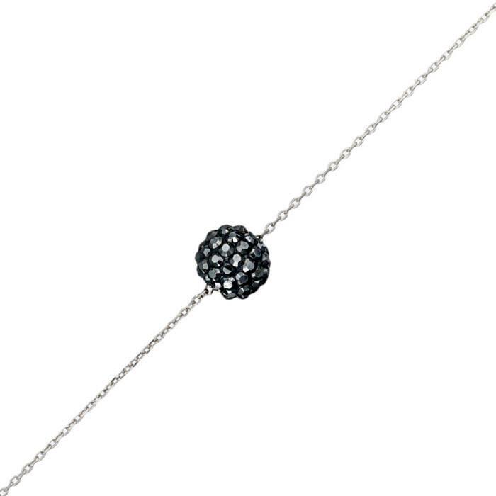 Mes-bijoux.fr - Bracelet Femme Argent 925 et ornée de Cristaux de Swarovski Element - WRT2Crygv