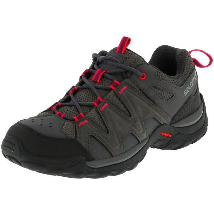 Chaussures running trail Millstream magnet/pink l - Salomon