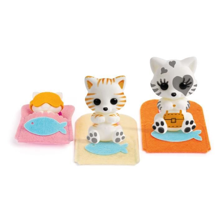 TOMY Fuzzikins - Ma famille chatons