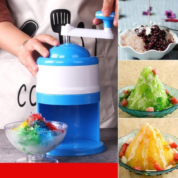 machine à glace manuel