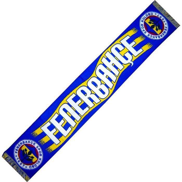 ECHARPE FENERBAHCE TURQUIE No drapeau maillot fanion casquette ...