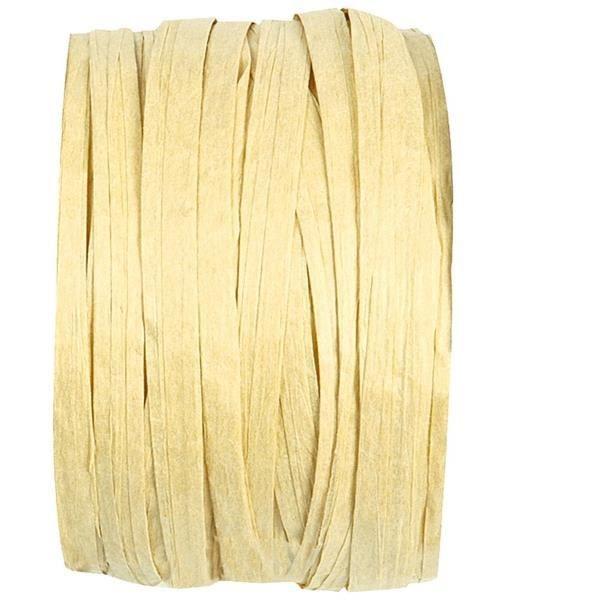 Bobine de raphia ivoire (x1) REF/2637