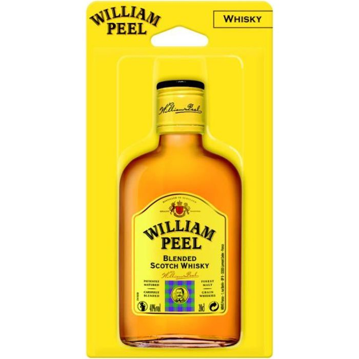 Scotch whisky 20cl William Peel