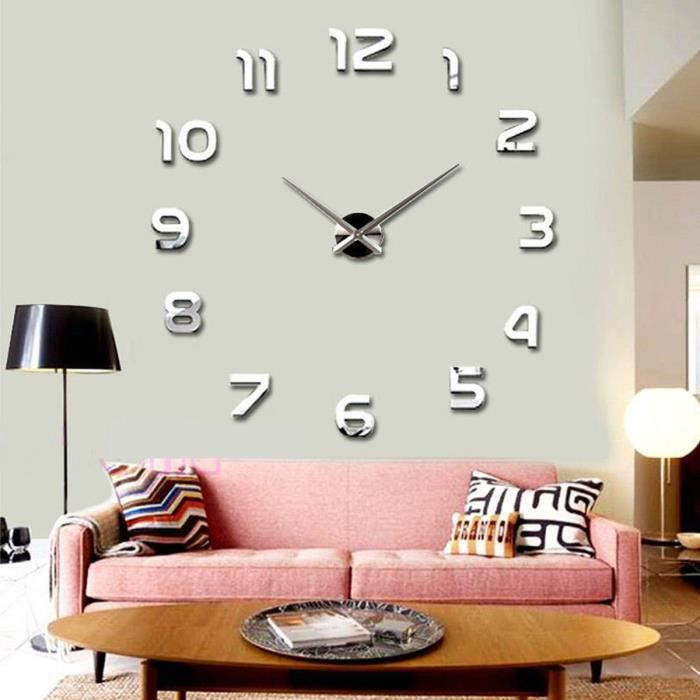 grande horloge murale design. Black Bedroom Furniture Sets. Home Design Ideas