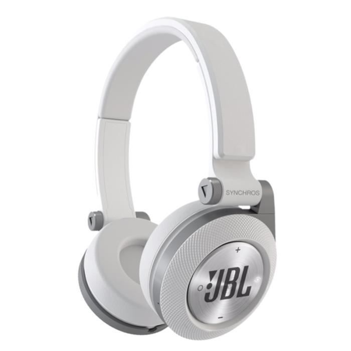 jbl e40bt casque audio bluetooth blanc achat casque couteur audio pas cher avis et. Black Bedroom Furniture Sets. Home Design Ideas
