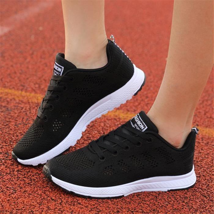Chaussures La sport de dames baskets respirant chaussures de femme Mode marche pour PkXw8nOZN0