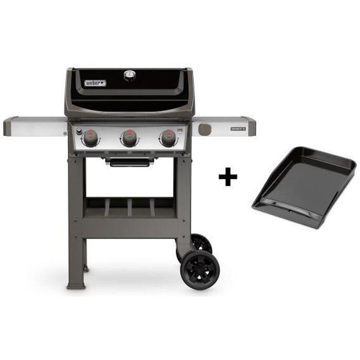 BARBECUE WEBER Barbecue à gaz Spirit II E-310 GBS 1/2 planc