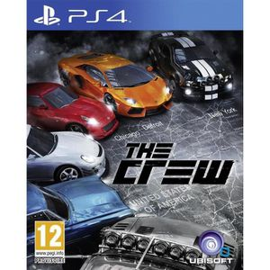 JEU PS4 The Crew Jeu PS4