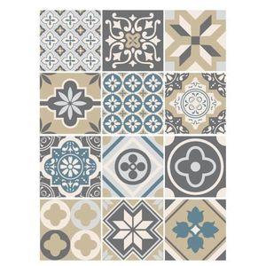 STICKERS Stickers Carreaux de Ciment - GLORIOUS - 12 pièces